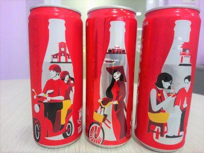 コーラの新デザインのサムネイル