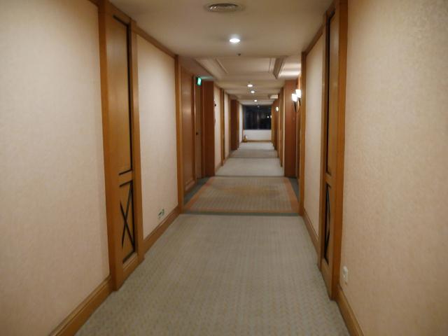 デウーホテル 廊下